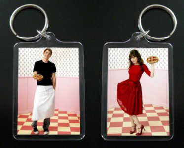 PUSHING DAISIES Ned & Chuck keychain Anna Friel 2