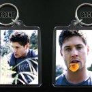JENSEN ACKLES keychain / keyring SUPERNATURAL Dean Winchester 6