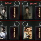 THE WALKING DEAD keychain / keyring RICK, SHANE, LORI - CHOOSE FROM 4 DESIGNS