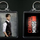 CRIMINAL MINDS keychain / keyring SPENCER REID Matthew Gray Gubler 10