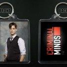 CRIMINAL MINDS keychain / keyring SPENCER REID Matthew Gray Gubler 9