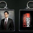 CRIMINAL MINDS Aaron HOTCH Hotchner keychain / keyring THOMAS GIBSON 4