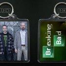 BREAKING BAD keychain / keyring Aaron Paul Bryan Cranston JESSE & WALTER WHITE 6