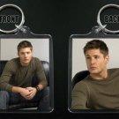 JENSEN ACKLES keychain / keyring SUPERNATURAL Dean Winchester