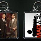 MAD MEN keychain / keyring  DON DRAPER Jon Hamm ROGER STERLING John Slattery
