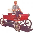 1901 Olds Curved Dash Runabout Horseless Carriage Plans PDF