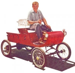 1901 Olds Curved Dash Runabout Horseless Carriage Plans