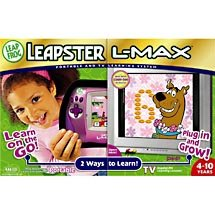 LeapFrog Leapster Learning Game System Pink and Scooby Doo game