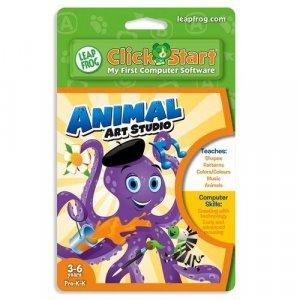 LeapFrog ClickStart Educational Software: Animal Art Studio