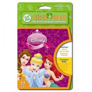 LeapFrog® ClickStart Educational Software:Disney Princess, The Love of Letters