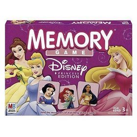 Memory Game - Disney Princess Edition