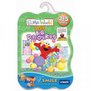V.Smile Smartridge: Elmo's World - Elmo's Big Discoveries
