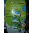 Leap Frog Iquest 4.0 Math Science & Social Studies 3 Cartridges