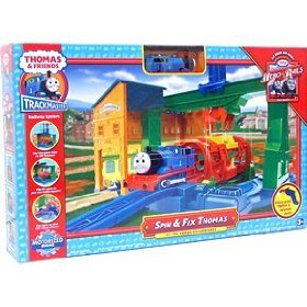 Spin & Fix Thomas & Friends Trackmaster Train Track