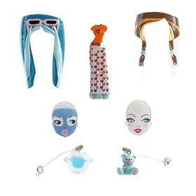 Barbie Girls PJ Party Pack - Blue Lips & Bear