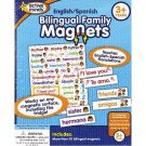 Active Minds Bilingual Family Magnets, English/Spanish