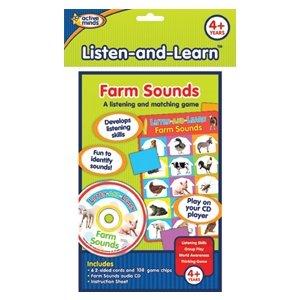 Active Minds:  Publications Ltd. Listen and Learn Farm Sounds