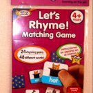 Active Minds Learning Games Let's Rhyme!  Matching Game 4+ Years