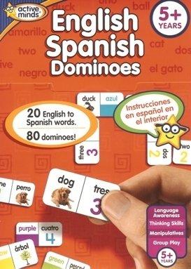 English Spanish Bingo Active Minds learning Games