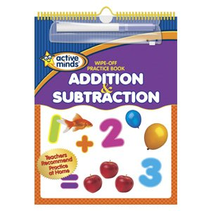 Wipe-Off Practice Book Addition & Subtraction