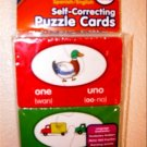 Active Minds Self-Correcting Spanish/English Puzzle Cards