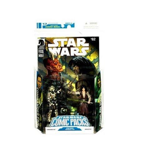 Star Wars Comic Packs:  Commander Faie & Quinlan Vos #82