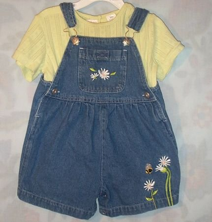 ADORABLE BABY BELUGA 2 PC GIRLS OUTFIT SZ24 MOS