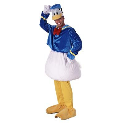 NEW Disney Donald Costume size L - Adult
