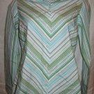 Women's striped shirt, CHARTER CLUB, size 2P