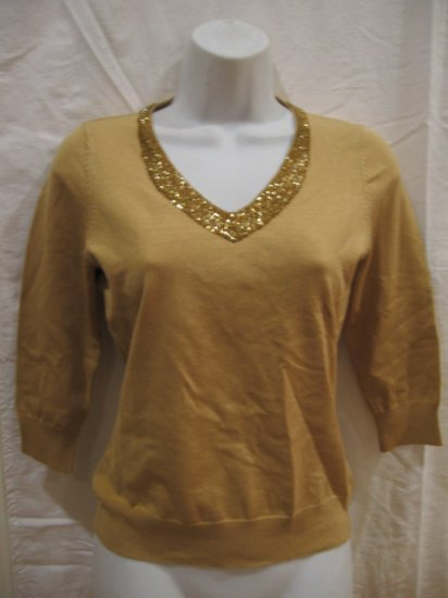 NEW Women's light brown pullover size PS