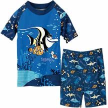 NEW Disney Store Nemo's Fishy Friends PJ Pals Short Pajamas size 4