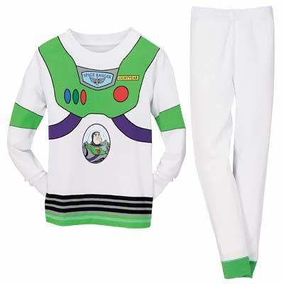 NEW Disney Store Buzz Power Suit PJ Pals Pajamas size 8
