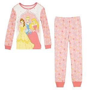 NEW Disney Store Princess PJ Pals Pajamas size 8