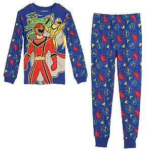 NEW Disney Store ''Power Rangers Mystic Force'' PJ Pals Pajamas size 10