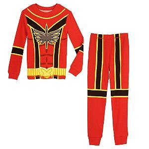 NEW Disney Store Power Rangers PJ Pals Pajamas size 8
