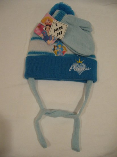 NEW Disney Princess Hat and Mittens set for Toddler