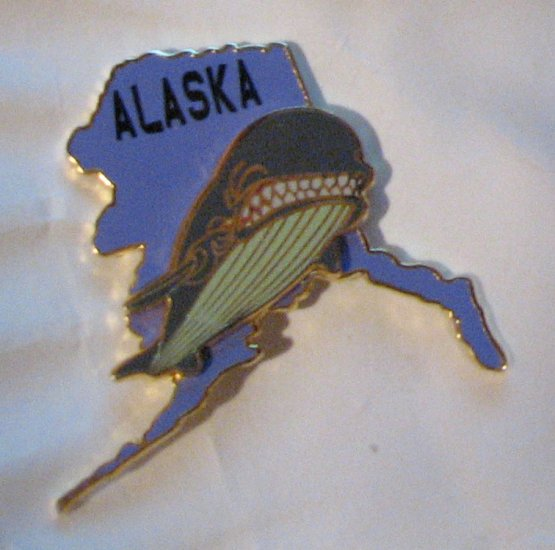 Disney Pins : Alaska/Monstro Pin (State Character Pins )