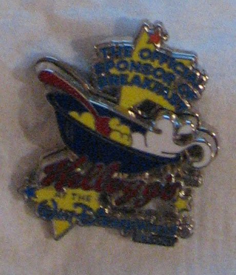 Disney Pins : Kellogg's Pin