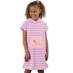 New Disney Princess Striped Terry Cover-Up, size S - Free Shipping!