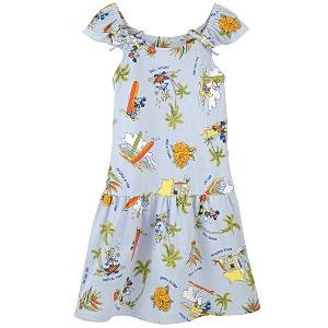 New Disney Mickey & Friends Waikiki Dress for Girls, size L - Free Shipping