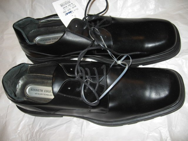 $175 New Kenneth COLE Men's Black Dress Shoes, size 16 - Free shipping