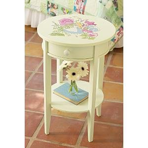 "New Disney Girls Bedroom ""ALICE IN WONDERLAND"" NIGHTSTAND"