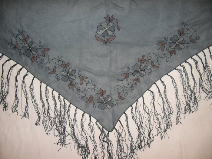 New Blumarine Shawl ( Scarf ) with Fringe