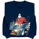New Disney Mr. Incredible Father's Day Sweatshirt, size M