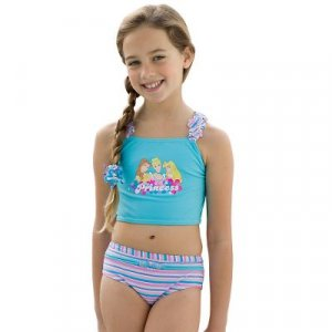 New Disney Princess 2-Piece Tankini, size 4T - Free Shipping