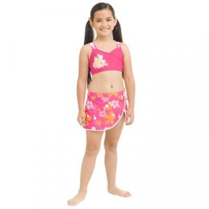 New Disney Princess Tankini with Attached Skirt, size 3T - Free Shipping