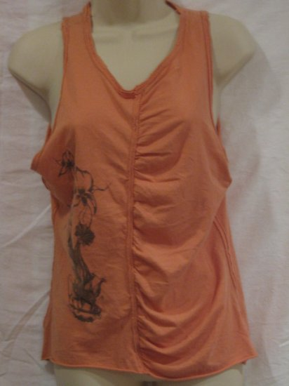 $122 New Henry Duarte Flower Girl Tank, Size M - Free Shipping!