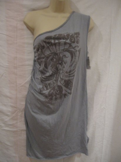 $122 New Henry Duarte Mermaid  Tunic Womens Tank, Size L - Free Shipping!