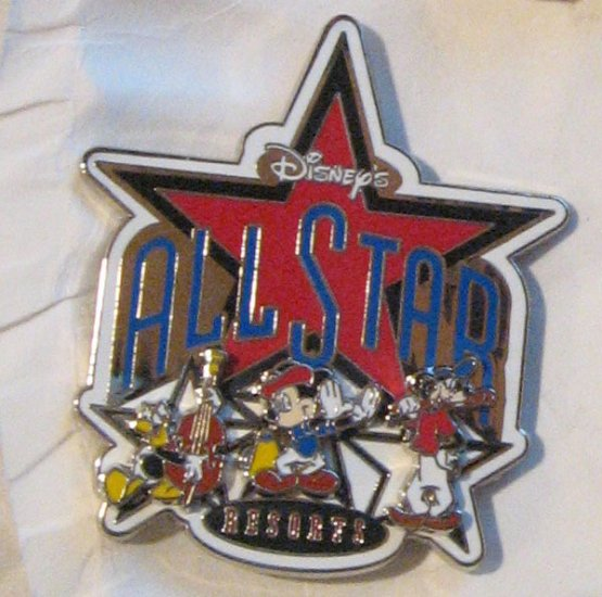 Disney Pins : All Star Resorts, 3D Pin