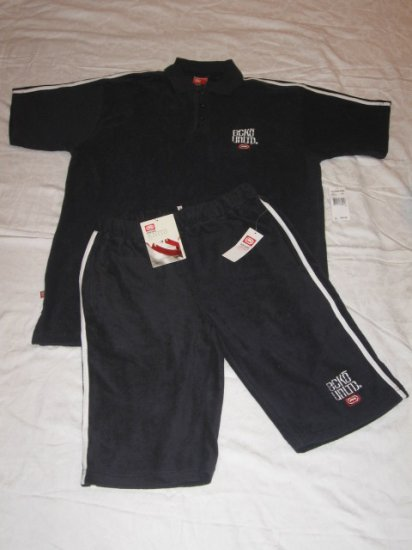New ECKO UNLTD TERRY SHORT SET,  Size  XL, MSRP: $118